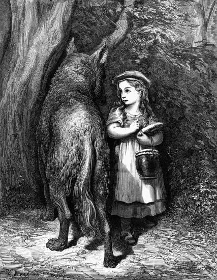 Loup gustave dor